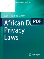 (Law, Governance and Technology Series 33) Alex B. Makulilo (Eds.)-African Data Privacy Laws-Springer International Publishing (2016)