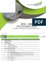 India Switchgear Market Forecast & Opportunities, 2023_Brochure