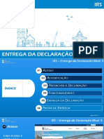IRS Entrega Mod3 Nova Aplicacao 2018