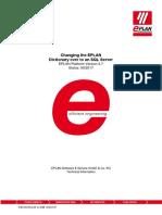 SQL Server EPLAN Dictionary 2.7 en US