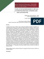 A Reforma Do Papel Do Estado Brasileiro
