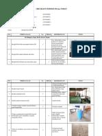 Checklist Inspeksi 5 r Dan Toilet