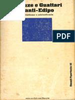 Deleuze, Guattari - L'Anti-Edipo (1972, 1975)
