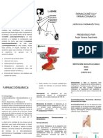 Farmacocinetica Folleto en Word