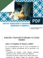 LEY Donacion de Organos