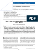 heart failure in congenital heart disease