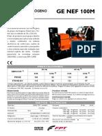 Doosan Bobcat Chile Generador Grupo Electrogeno Iveco Ge Nef 100m 559847