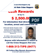 Reward offered in search for Wendell Griffin