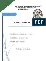 BOMBEO HIDRÁULICO