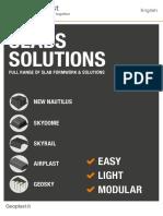 Geoplast Slabs Solution English Brochure