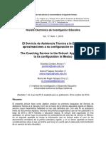 El Servicio de Asistencia Técnica a La Escuela_aproximaciones a Su Configuración en México