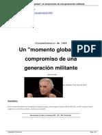 Rousset, P. 2018. Un Momento Global. El Compromiso de Una Generación-militante