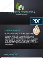 Semántica y Semiótica