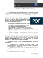 03 - Utilização Do Modelo A3 Para a Resolução de Problemas