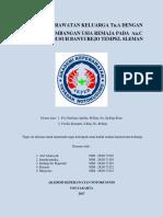 Asuhan Keperawatan Keluarga Tn.a Dengan Tahap Perkembangan Usia Remaja Pada an.c Di Dusun Kemusuh Banyurejo Tempel Sleman