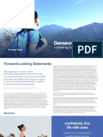 Sens Investor Presentation June 2018