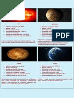 Cartas jogo de astronomia