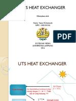 Uts Heat Exchangger