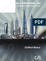 CSIxRevit Manual
