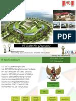 Presentasi Dahana Semen Padang