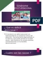 Deficit Atencional Trabajo 4 Medio A