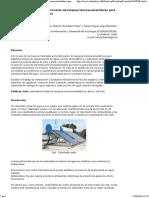 Nuevos Materiales en La Fabricación de Tanques Termoacumuladores Para Calentadores Solares de Agua
