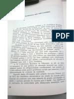 Manifesto dos Educadores - IV Conferência Brasileira de Educação