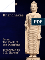 Buddhist Stories From the Khandhakas Selections From the Book of the Discipline Horner