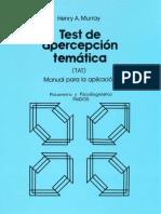 1.t.a.t. de Murray - Manual