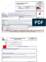 Formato MSDS Nivel Usuario
