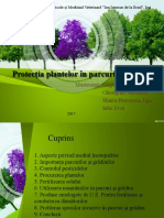 Protectia Plantelor in Parcuri Si Gradini