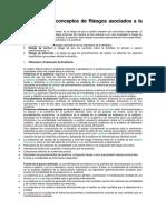 Definición de Conceptos de Riesgos Asociados a La Auditoría