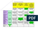 portfolio self assessment matrix final