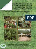 Manual Sobre Aplicacion de Criterios e Indicadores
