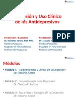 Depresión y Uso Clínico de los Antdepresivos
