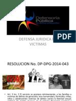 Defensa Juridica de Victimas