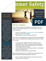 summer safety newsletter 2018
