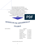 modelos de desarrollo global en Venezuela