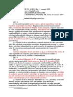 L 132 2017 - Asigurarea Obligatorie de RCA Pentru Prejudicii Produse Prin Accidente- In Vig Din 12.07.2017