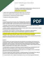 Avaliando_Metodologia Cientifica