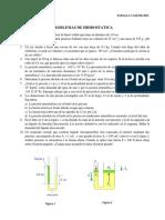 Taller de Fluidos 1- Hidrostatica