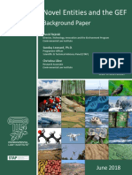 Novel Entities and the GEF
