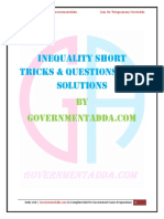 Inequality PDF by Governmentadda.com