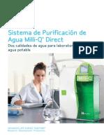 Milli-Q Direct - Catálogo ES