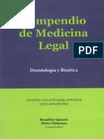 Compendio de Medicina Legal
