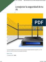 La Nacion - Mejorar La Seguridad Wi-Fi
