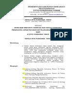 e.p. 2.3.5.1......88. Sk Kewajiban Mengikuti Orientasi Bagi Kepala Puskesmas Penanggung Jawab Program Dan Pelaksanaan Kegiatan Yang Baru