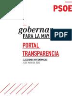 Portal de Transparencia_PSOE
