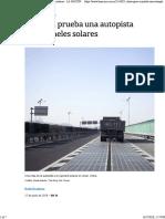 La Nacion - China Prueba Una Autopista Solar