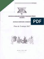 Jf Plan de Trabajo 2017